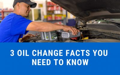 3 Oil Change Facts You Need To Know